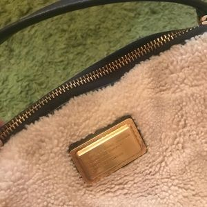 Marc by Marc Jacobs shearling and leather bag